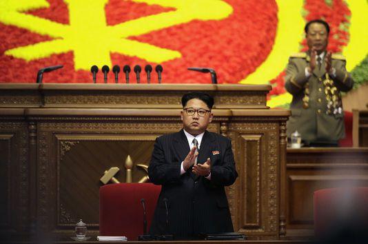 Kim Jong-un a été élu Président du Parti du travail de Corée.