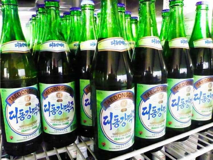 A la découverte de la brasserie Taedonggang de Pyongyang