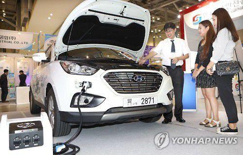 Des taxis à hydrogène à Ulsan