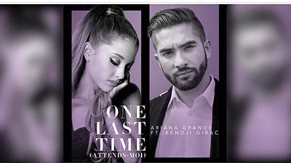 Ariana Grande et Kendji réunis sur &quot&#x3B;One Last Time (Attends-Moi)&quot&#x3B; - Le duo surprise