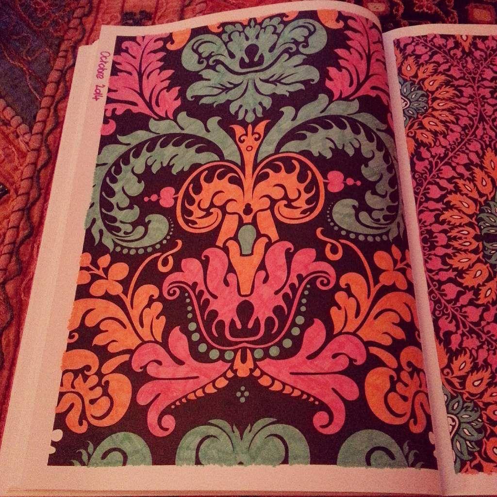 L'art thérapie- coloriage anti-stress: le coloriage pour adultes