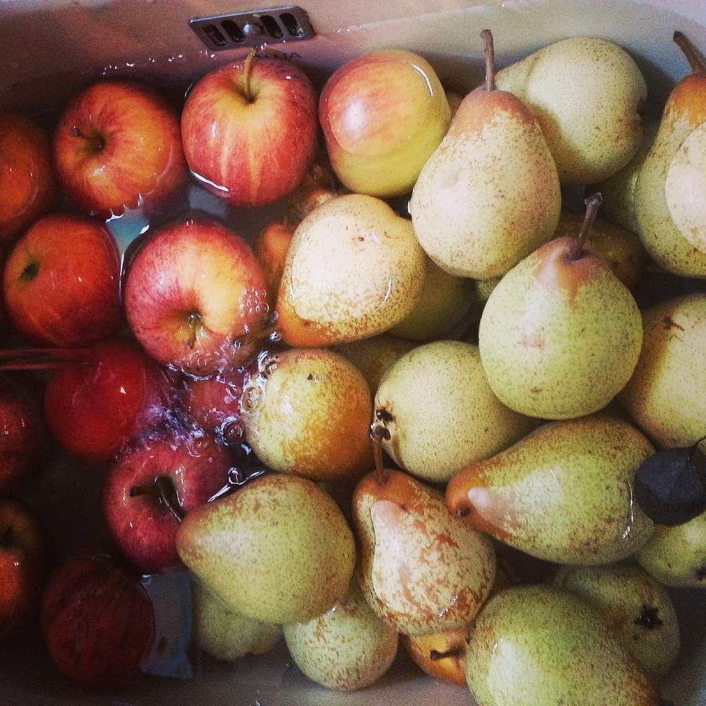 Recette de mes confitures de poires-pommes-vanille