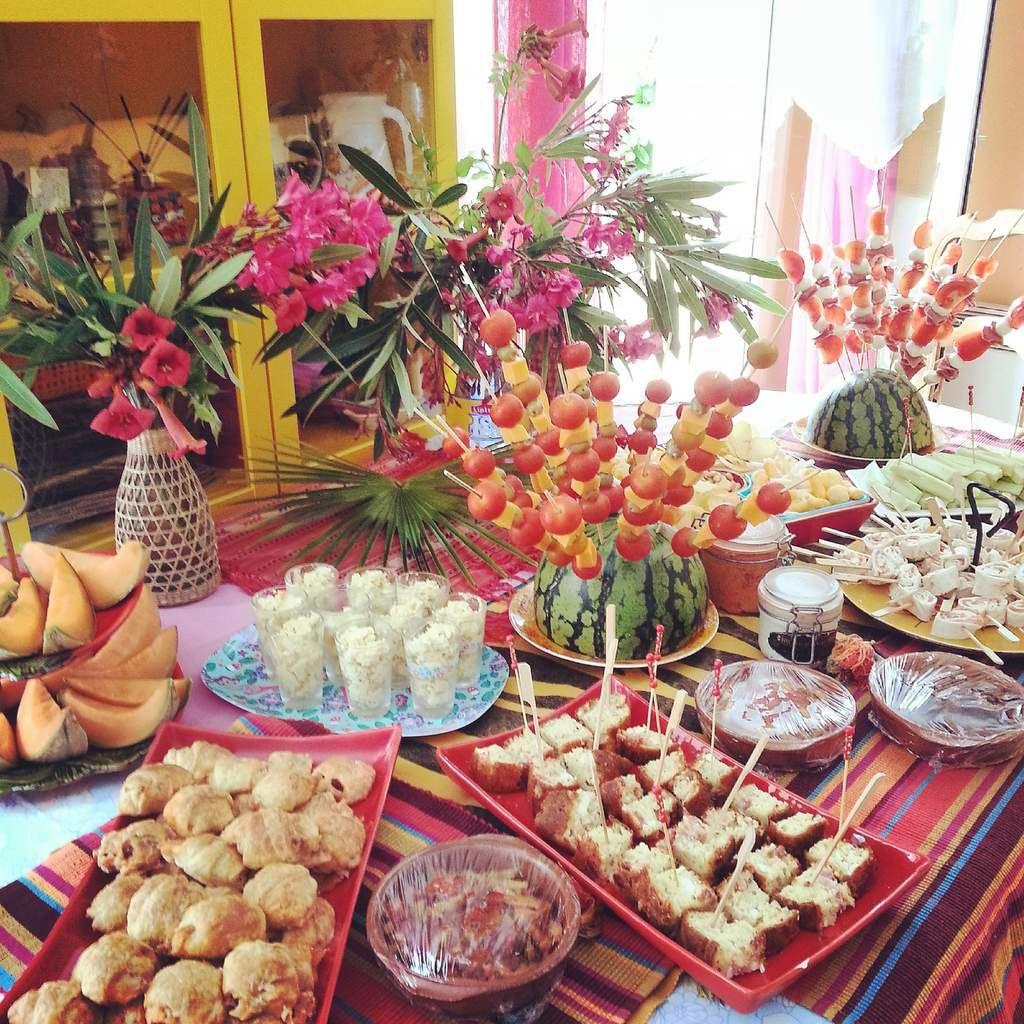 Comment organiser un buffet original, bon et beau!