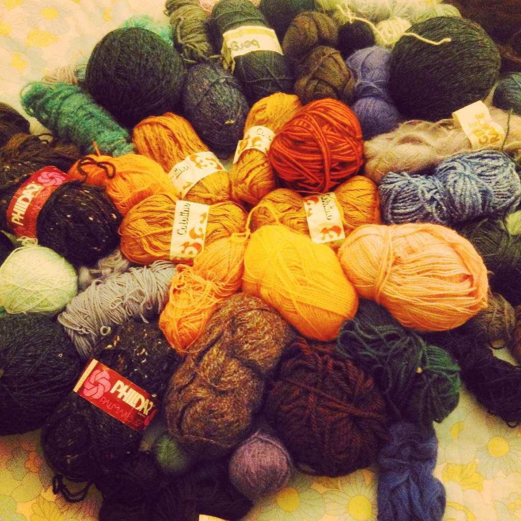 Tricoter et crocheter &quot&#x3B;durable&quot&#x3B;
