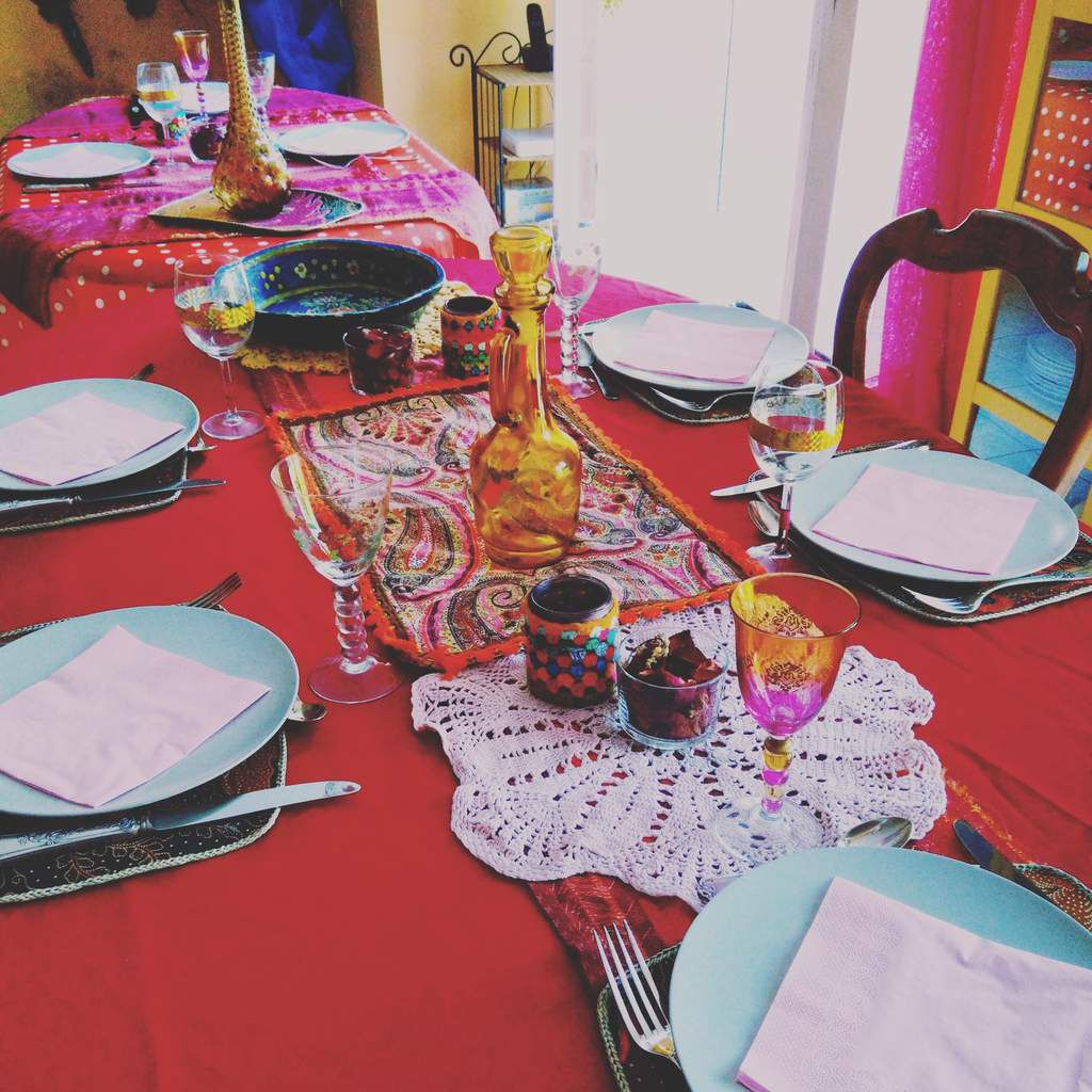 Table d'anniversaire de ma princesse