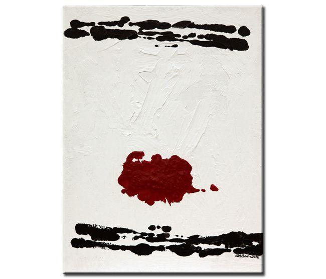 """Peinture : """"Checkpoint (Confrontation)""""..."""