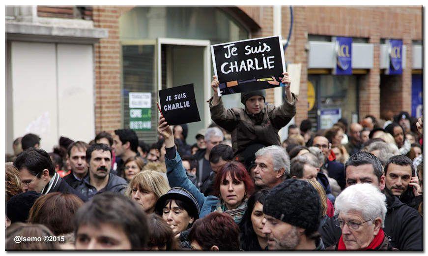 """""""Toulouse est Charlie"""" (10 janvier 2015)..."""