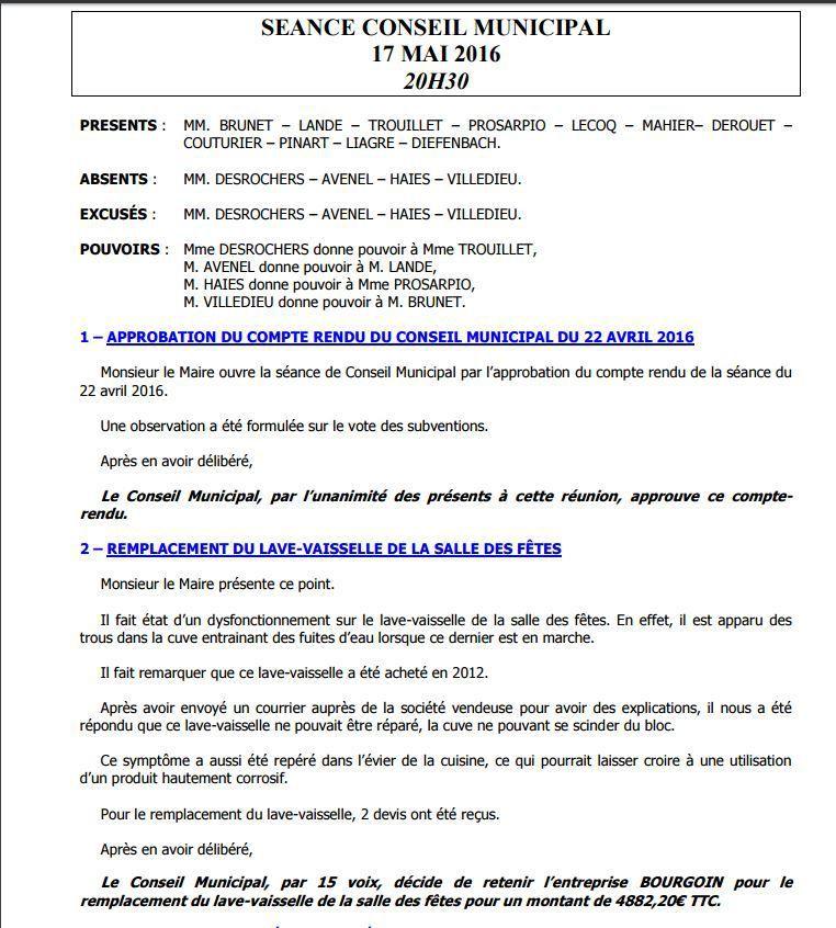 DISPARITION DE 15 DRAPEAUX