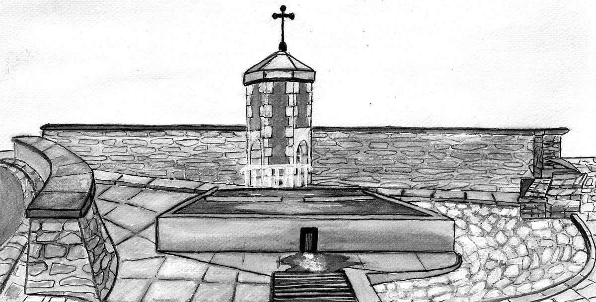Une petite fontaine dans la Nièvre