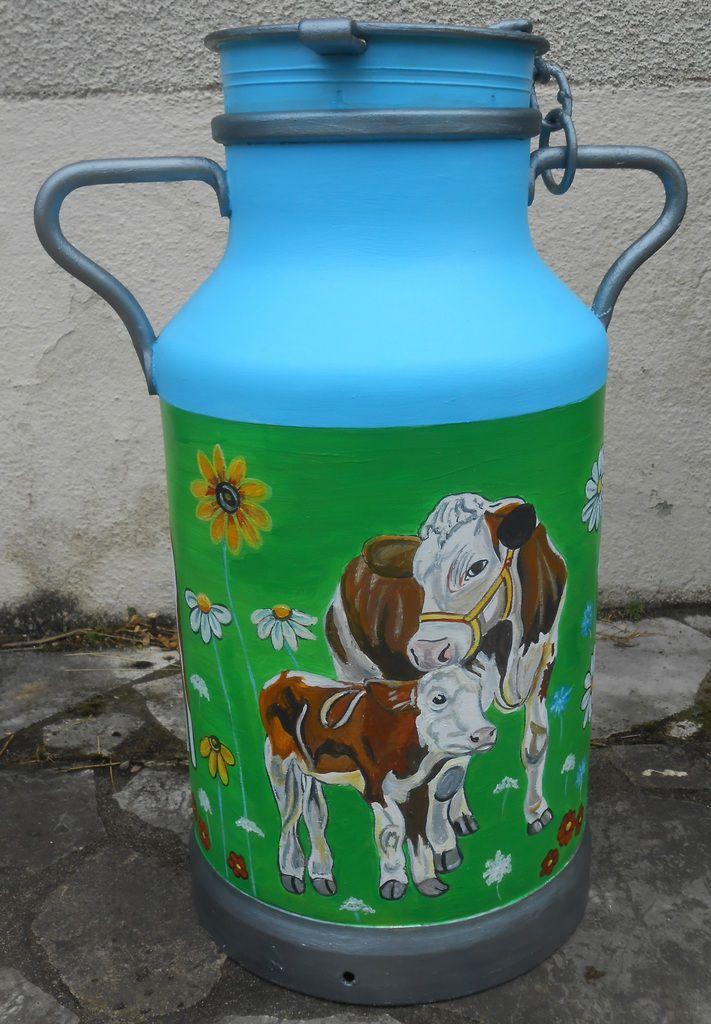 Des vaches et des fleurs