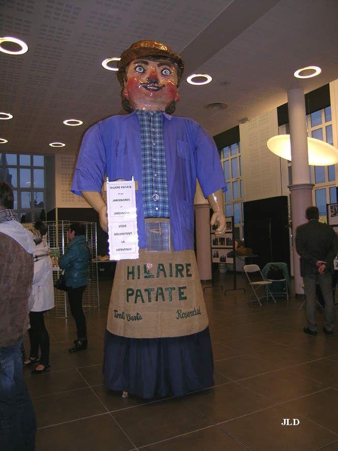 Hilaire Patate géant de Rosendaël