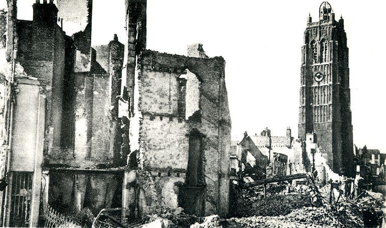 Dunkerque pendant l'Opération Dynamo, vue par des civils