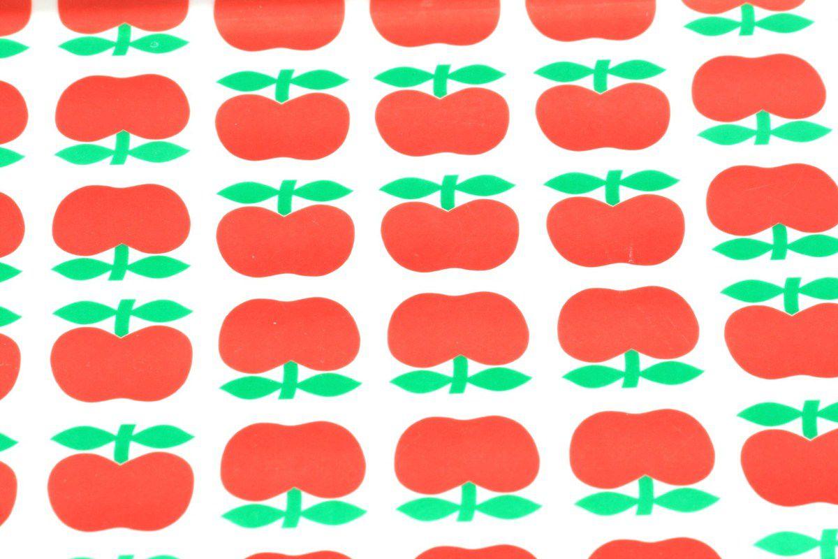 Plateau décor pomme Années 70 - Vintage