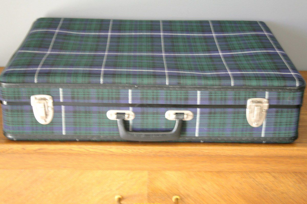Valise écossaise Années 60 - Vintage