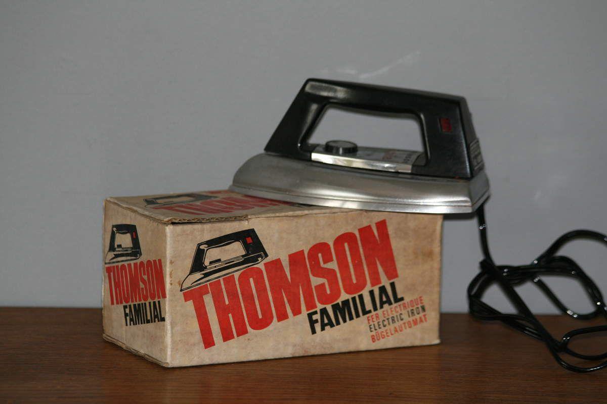 Jouet enfant fer à repasser Thomson années 70 - Vintage