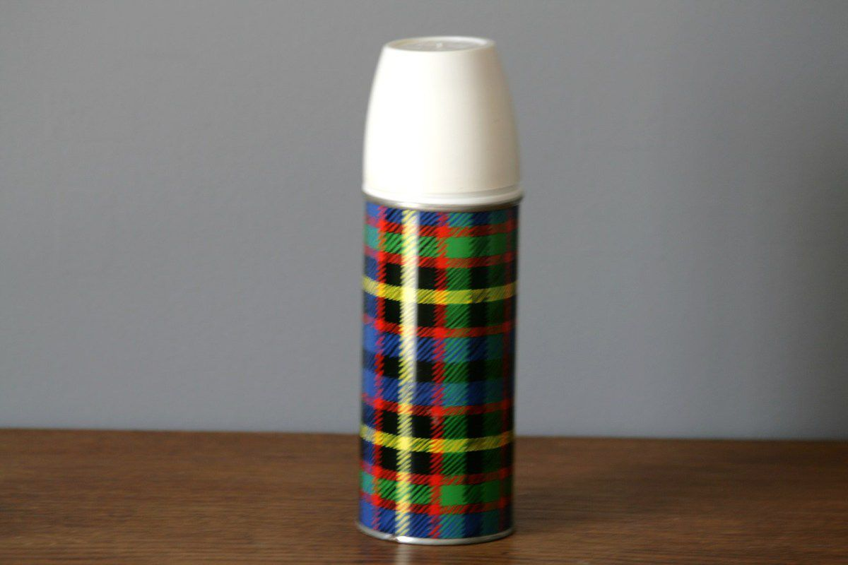 Petite thermos Vacco Made in England Années 70 - Vintage