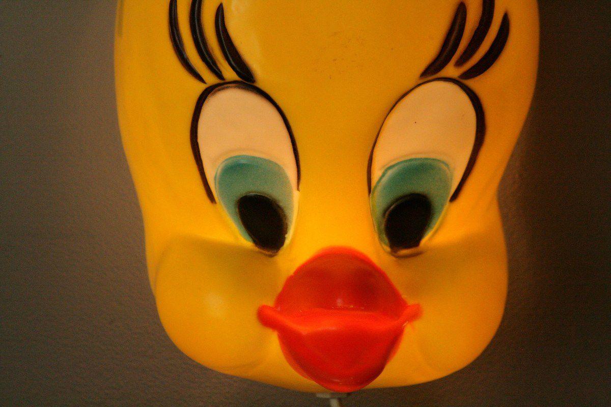 Masque applique Titi Années 80 - Vintage