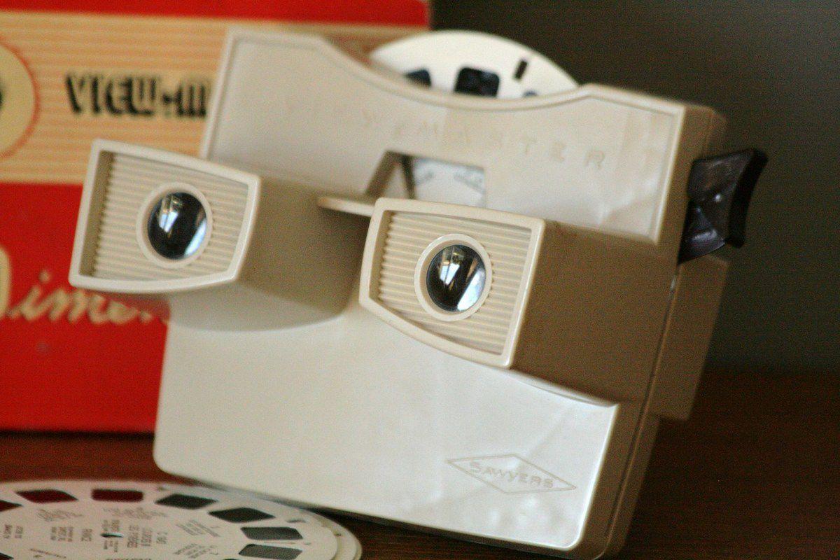 View-Master 3D jumelles 3D années 70 - Vintage