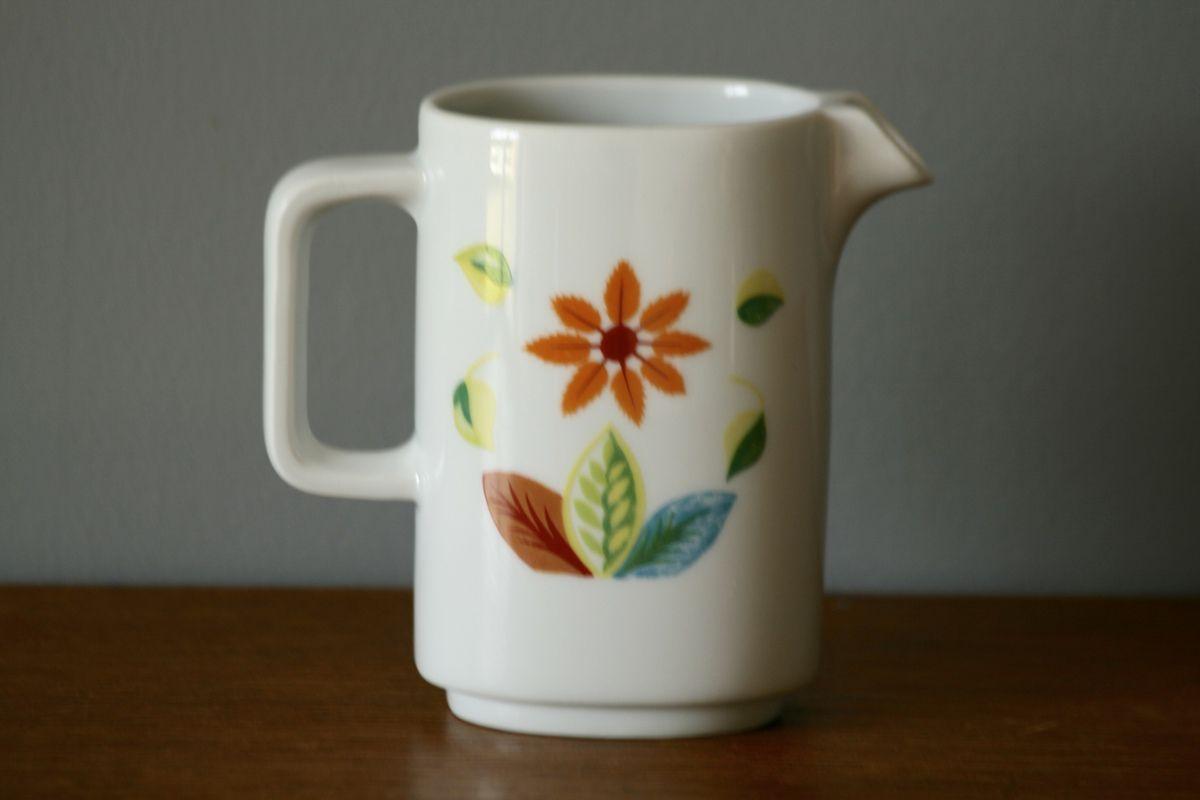 Petit pot à lait Bernardaud oiseaux Années 70 - Vintage
