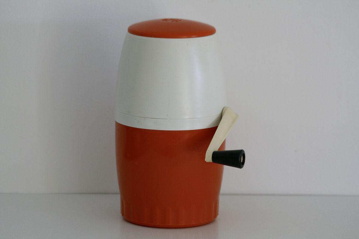 Pileur de glace orange Omi Années 70 - Vintage
