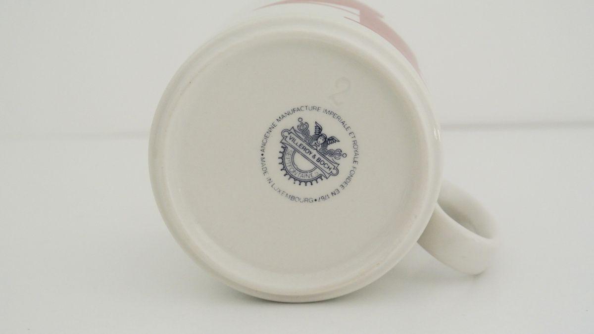 Mug N°4  Villeroy et Boch Septfontanès Années 70 - Vintage