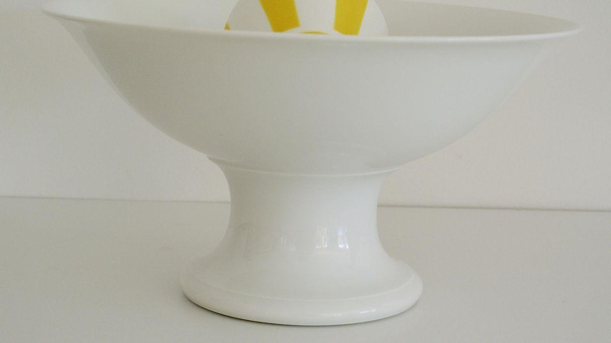 Compotier en porcelaine Blanche