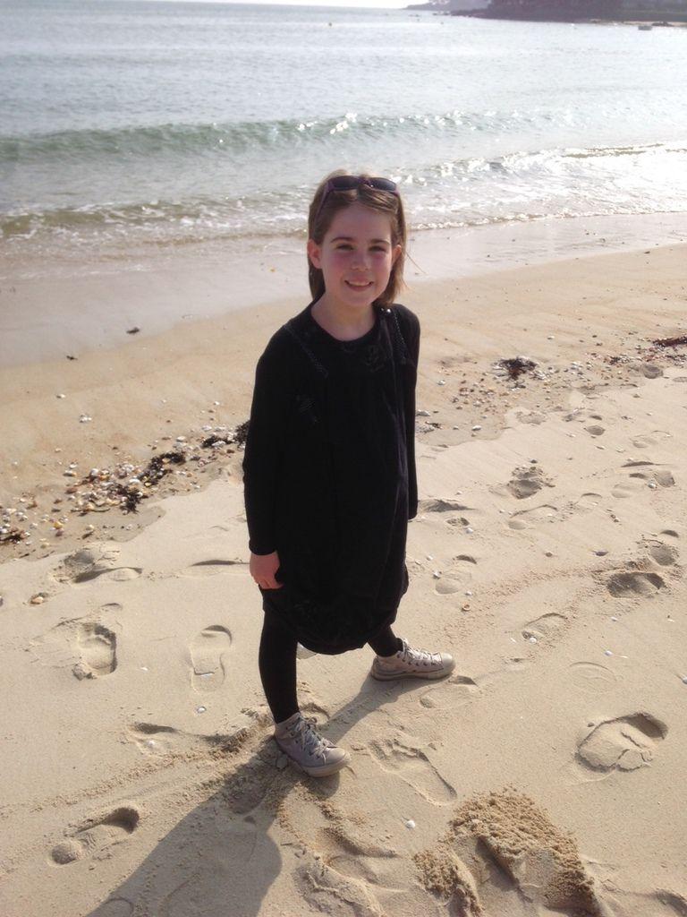 du velours noir pour ma fille