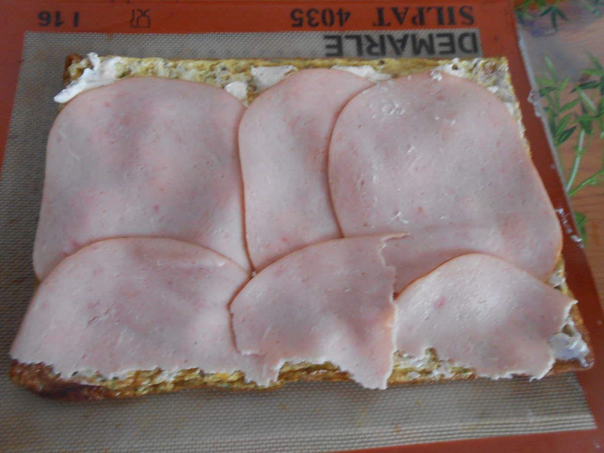 gâteau roulé salé