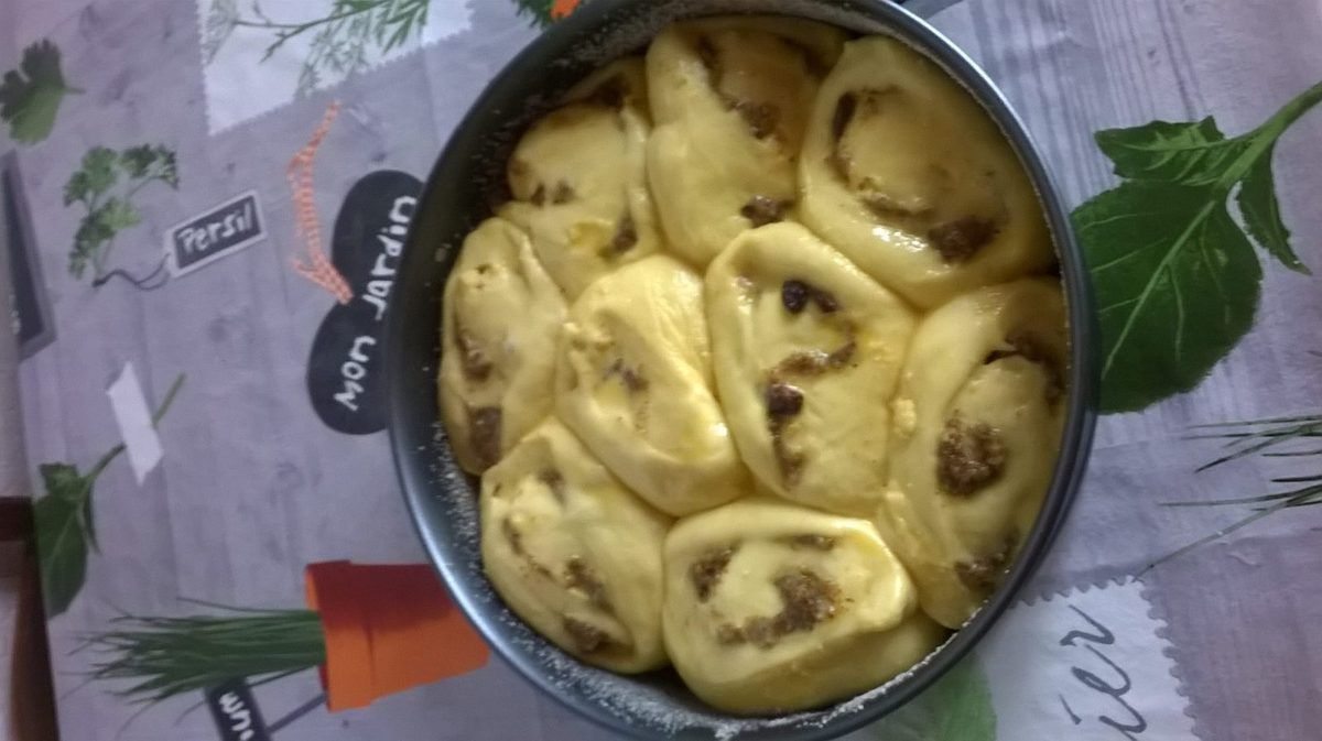 chinois noisette /vanille bourbon ou schneckekueche