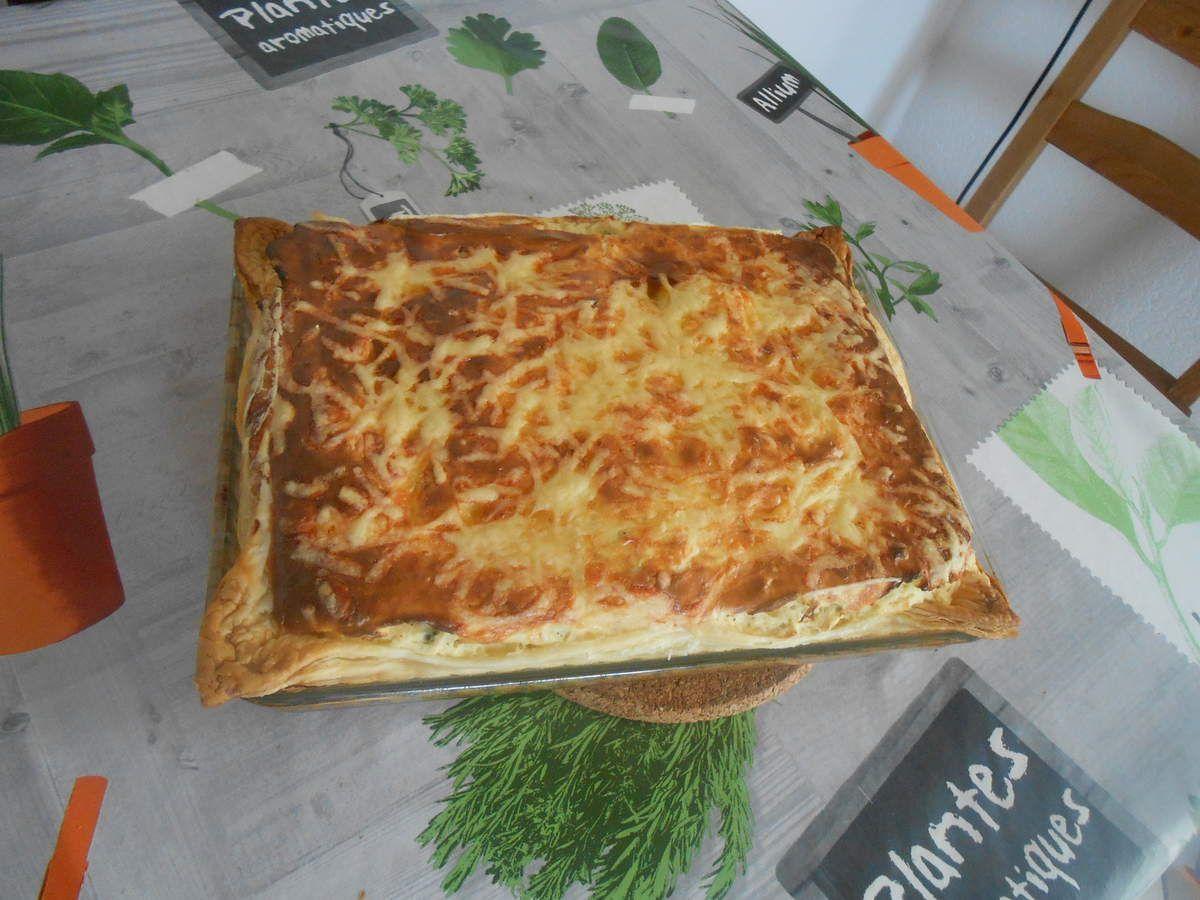 tarte fromage blanc salé gout poireaux