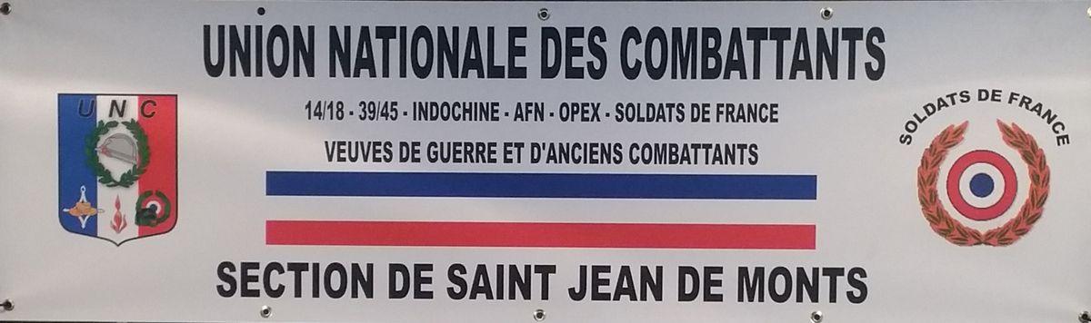 UNC - SOLDAT DE FRANCE SAINT JEAN DE MONTS