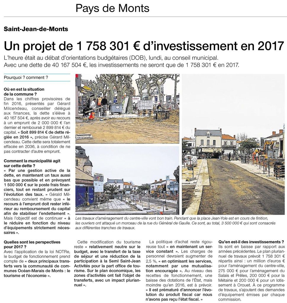 OUEST-FRANCE MARS 2017