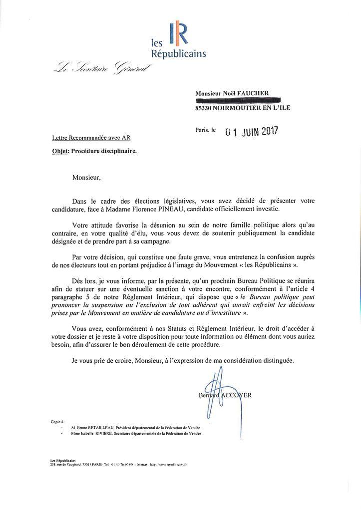 Courrier Bernard Accoyer - LR