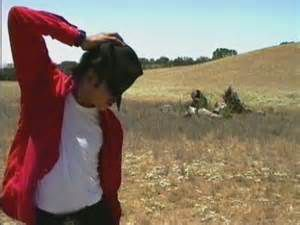 Michael Jackson dans son ranch Neverland.