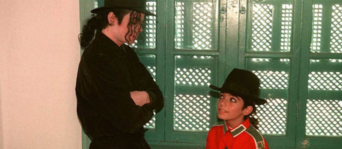 Michael Jackson et son «mini lui» :  Omer Bhatti