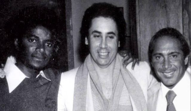 MICHAEL JACKSON, DAVID GEST, PAUL ANKA