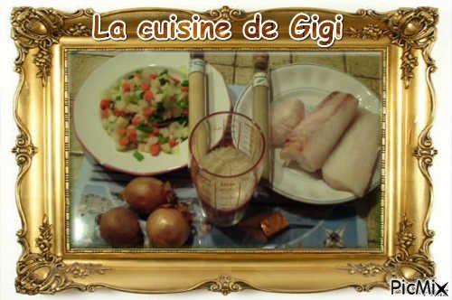 Risotto ou wok au poisson