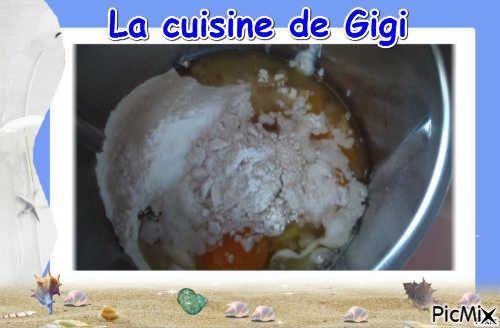 Gâteau de yaourth aux myrtilles