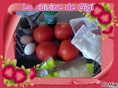 Tomates farcies sous forme de gratin