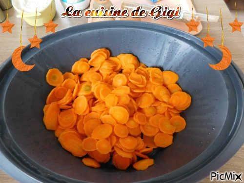 Blinis de carottes au cumin