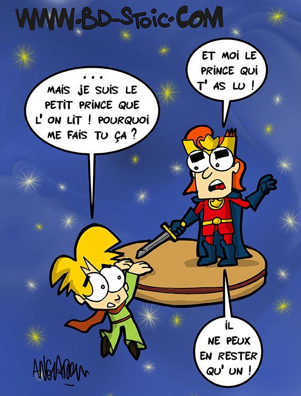 Petit prince vs Prince de Lu