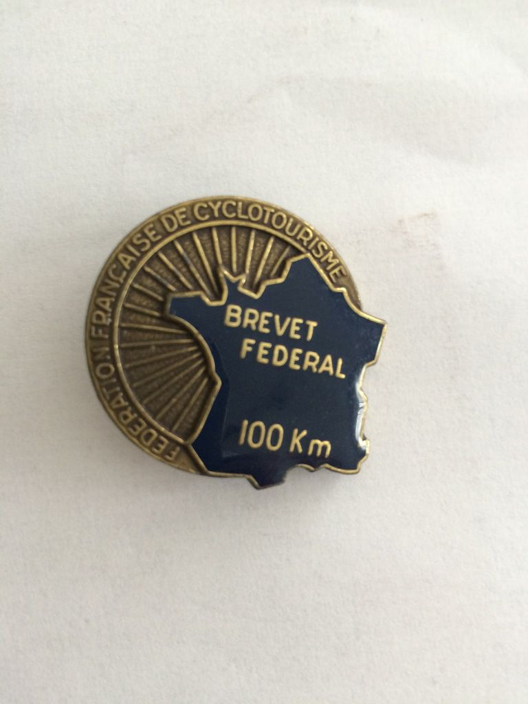 Brevet de cyclotourisme 100 kilomètres