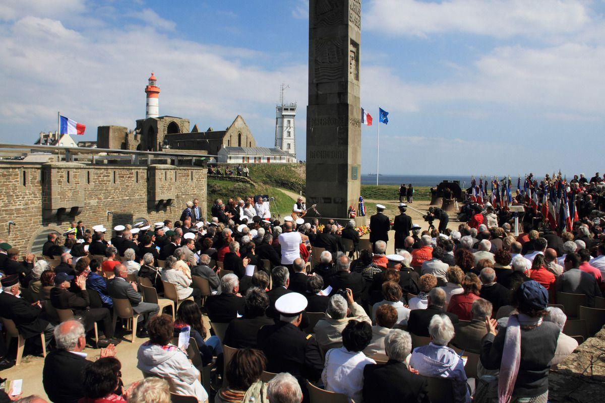 31 mai 2014 - Cérémonie à la mémoire des marins pêcheurs morts pour la France lors du conflit 1914-1918 - photographie Jean-Jacques Tréguer