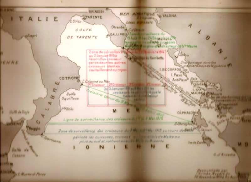 """Le secteur le plus occidental, le plus proche de la côte italienne, est appelé """"la gueule du loup"""""""