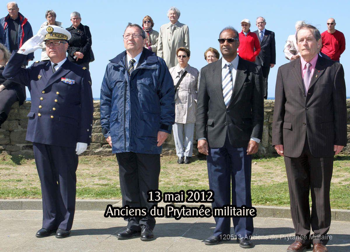 Retrospective - non exhaustive - des évènements de la mémoire maritime que l'Amiral Labonne a partagé avec l'association Aux Marins.
