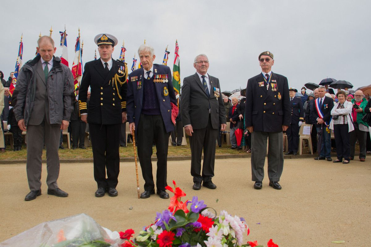 2 juillet 2015 - 75ème anniversaire de la tragédie de Mers-el-Kebir au Mémorial National des Marins Morts pour la France (les photographies)