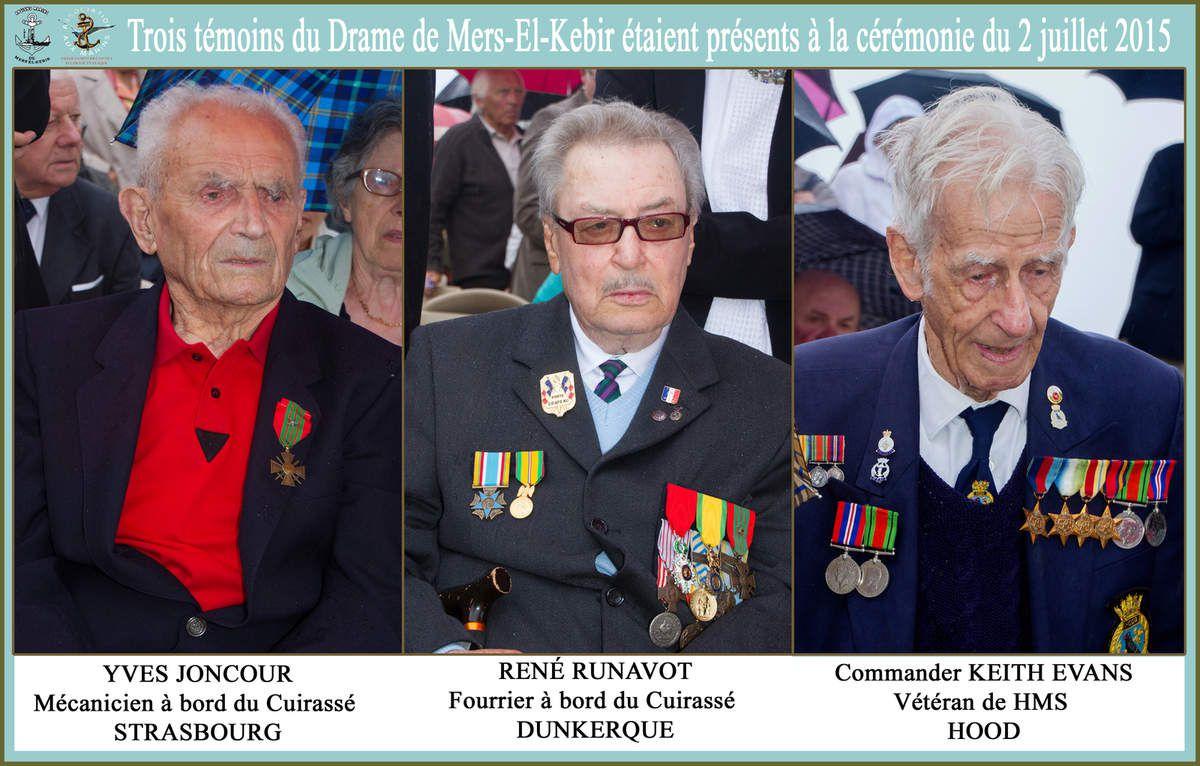 2 juillet 2015 - 75ème anniversaire de la tragédie maritime de Mers-el-Kebir au Mémorial National des Marins Morts pour la France