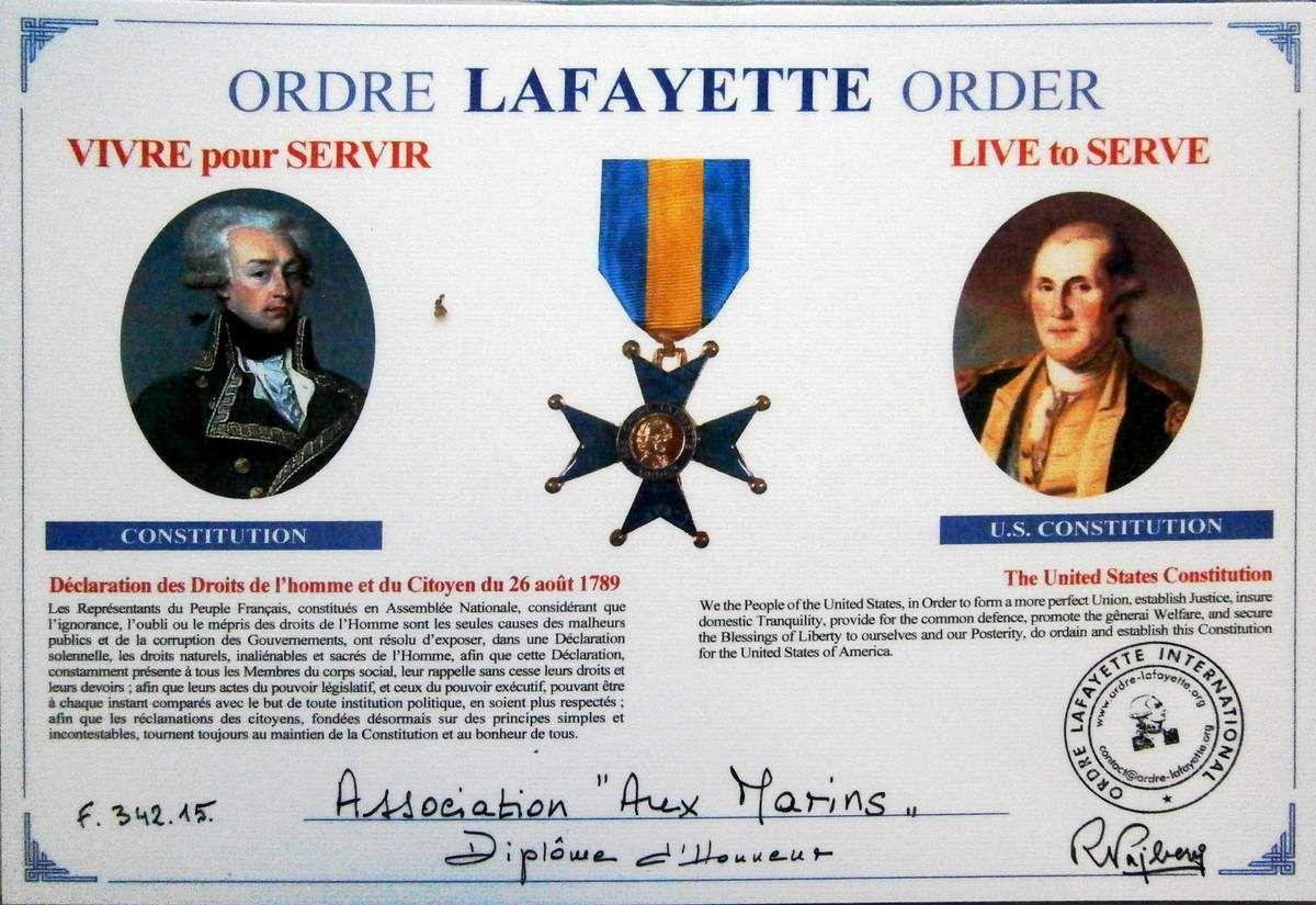 17 août 2015 - Cérémonie d'hommage aux marins français morts pour l'indépendance américaine (1778-1783)
