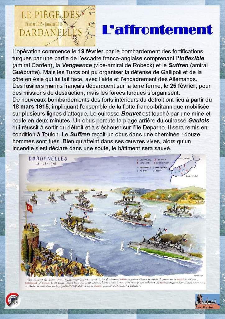 Exposition 2015 : Le Drame des Dardanelles et du Léon Gambetta en Adriatique