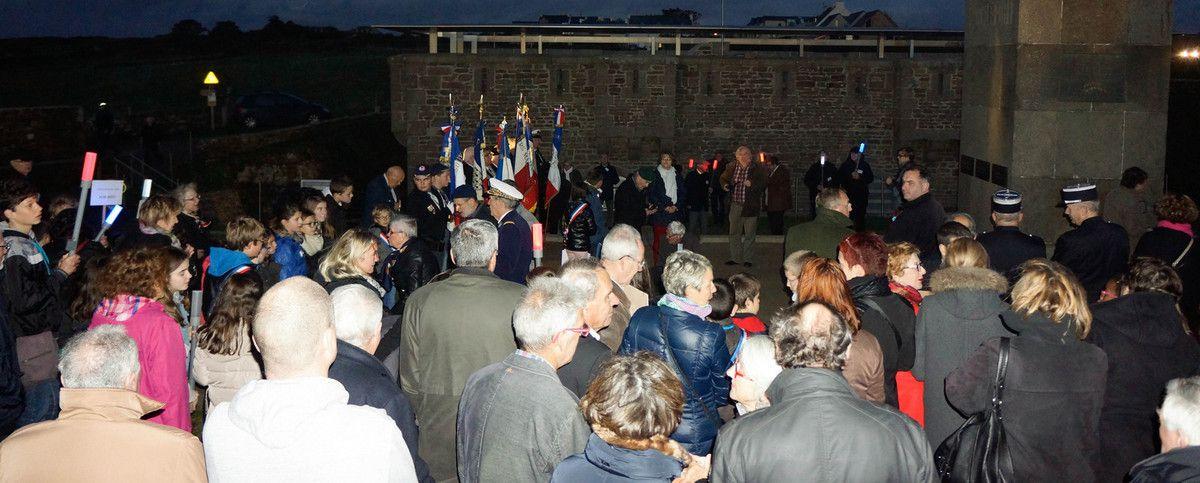 10 NOVEMBRE 2015 - RAVIVAGE ET PARTAGE DE LA FLAMME DE LA NATION - 8ème édition